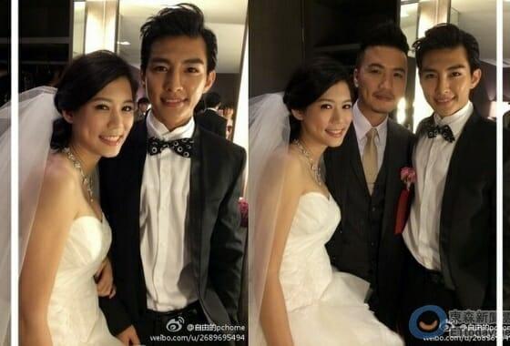 台湾俳優アーロン結婚